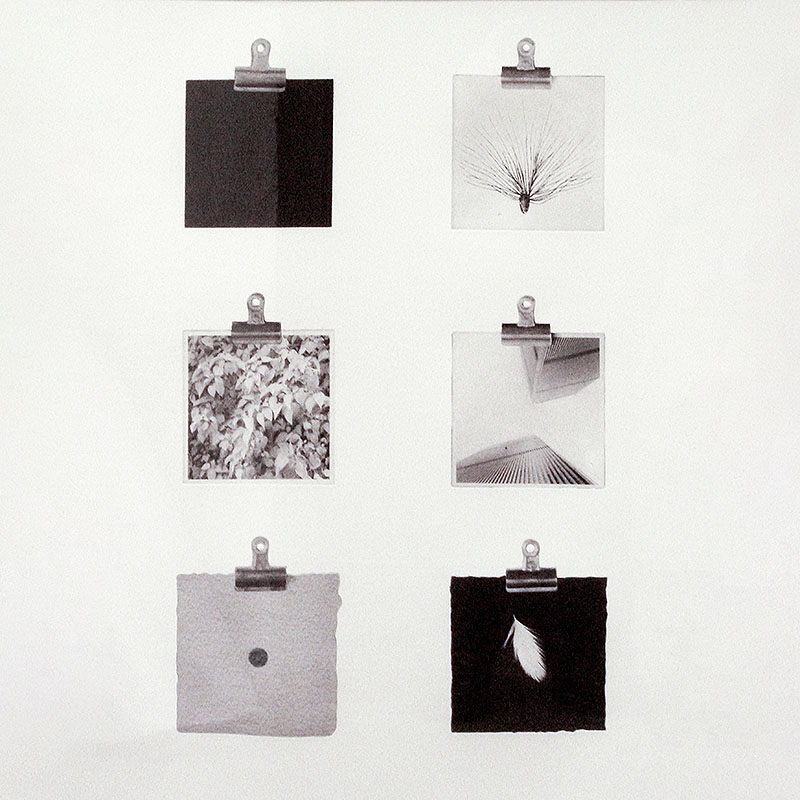 Clips av Lars Wikström, litografi